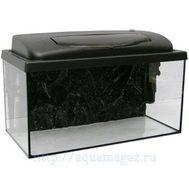 Аква-комплект РАР50 CLASSIC прямоугольный 45л (50х30х30см) (аквариум+крышка-светильник14Вт+рамка) Aquael