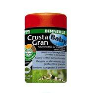Гранулированный основной корм Dennerle CrustaGran Baby для молоди креветок и мелких раков, 100 мл. Величина гранул 0,1 - 0,8 мм.