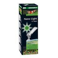 Светильник Dennerle Nano Light 11 ватт с верхним креплением на стенку аквариума