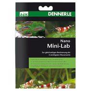 Минилаборатория  для тестирования 5-ти показателей пресной аквариумной воды в нано-аквариумах Dennerle Nano MiniLab