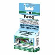 JBL Furanol Plus 250 - Препарат против внутренних и внешних бактериальных инфекций, 20 табл. на 500 л воды