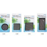 Керамическая площадка с сеткой из нержавеющей  стали для культивации растений - квадрат 6,5см