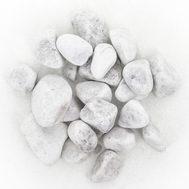 Грунт галька белая 3-5см 2,7кг, фото 1