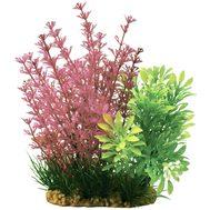 Композиция из пластиковых растений 15см, фото 1