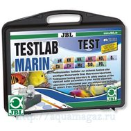 Водонепроницаемый пластиковый чемодан, содержащий набор из 10-ти тестов для всестороннего анализа качества морской воды JBL Test