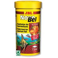 JBL NovoBel - Основной корм в форме хлопьев для всех аквариумных рыб, 250 мл.  40 г.