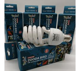 УФ лампа для птиц ZooDA birds Е27 2.4% UVB 12% UVA  🐦 🔥, Выбор вариации: 26 Вт, фото