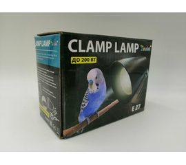 Светильник на прищепке Е27 ZooDA Clamp Lamp 🐦 🔥, Выбор вариации: Без отражателя, фото