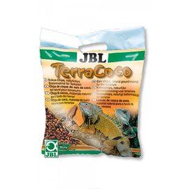 Кокосовая стружка, натуральный донный субстрат для террариумо JBL TerraCoco, 5 л