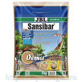 мелкий грунт оранжевый, 10 кг JBL Sansibar ORANGE 10 кг