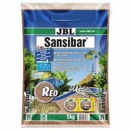 мелкий грунт красный, 10 кг JBL Sansibar RED 10 кг
