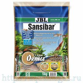 мелкий грунт оранжевый, 5 кг JBL Sansibar ORANGE 5 кг