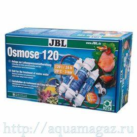Установка обратного осмоса с угольным фильтром и фильтром тонкой очистки, производительность 120 литров в сутки JBL Osmose 120
