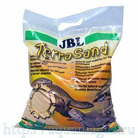Донный грунт для сухих террариумов JBL TerraSand (nature yellow), 5 л