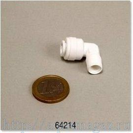 Фитинг 1/8 изогнутый для установки обратного осмоса JBL Osmose 120 JBL 1/8 Fitting gebogen fur JBL Osmose