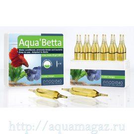 Aqua`Betta кондиционер и бактериальная культура для бойцовых рыбок (12шт)