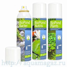 Набор прудовых спреев Prodibio (BIO POND BACTER+BIO POND NUTRIS+BIO POND PLANTS) 3х125мл