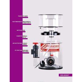 Флотатор SSS-6000INT компактный внутренний D300/380*310*620, до 2800л, помпа ВВ-5000S, 45Вт,возд. 2100л