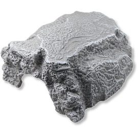 JBL ReptilCava GREY M - Пещера для террариумных животных, серая, 16 х 13,5 х 10 см