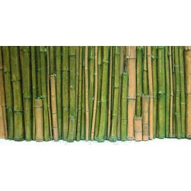 Фон рельефный Бамбук 148х58см зеленый