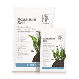 Аквариумный питательный грунт (мелкий) используется для планирования нового аквариума.
