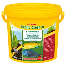 Корм для рыб Sera Cichlid Green XL 3,8 л (1 кг)