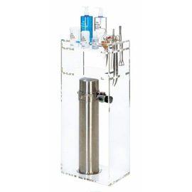 Подставка-органайзер для инструментов и удобрений напольная из оргстекла, с отсеком для установки баллона ADA CO2 Tower ADA Main