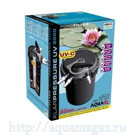 Фильтр для пруда KLARPRESSURE UV 8000 (UV-11Вт на 8000л.)