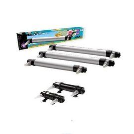 Стерилизатор UV-PS 30 (лампы-30Вт) до 8500л/ч до 30,0м3 (пруд) стальной корпус толстый сетевой кабель 10м (Акваэль)