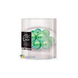 Dennerle Enie Deco Seeglas - декоративные элементы для нано-аквариумов в виде стеклянных шариков зеленого цвета, размер 24 мм