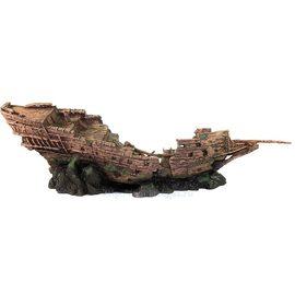 Корабль пластиковый №555
