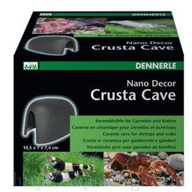 Декоративный элемент для нано-аквариумов Dennerle Nano Decor Crusta Cave, керамическая пещера для креветок и раков