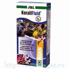 Жидкий планктон для беспозвоночных и мальков JBL KorallFluid, 500 мл 500 г