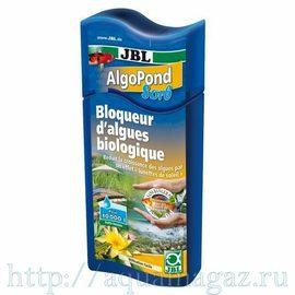 Препарат для блокирования роста водорослей в садовом пруду, использующий эффект солнцезащитных очков JBL AlgoPond Sorb, 2,5 л