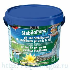 Средство для стабилизации значения pH в садовых прудах JBL StabiloPond KH, 250 г