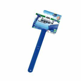 Стеклоочиститель с ручкой 30 см и наклонённым лезвием из высококачественной стали шириной 70 мм. JBL Aqua-T Handy angle