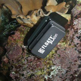 Плавающий магнитный скребок с лезвием для чистки толстых стекол от водорослей JBL Floaty L Blade