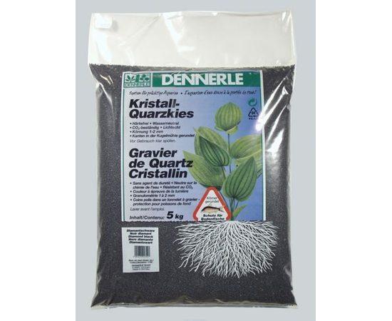 Dennerle Kristall-Quarz 1-2 мм черный, Штук в упаковке или вес: 10 кг., фото