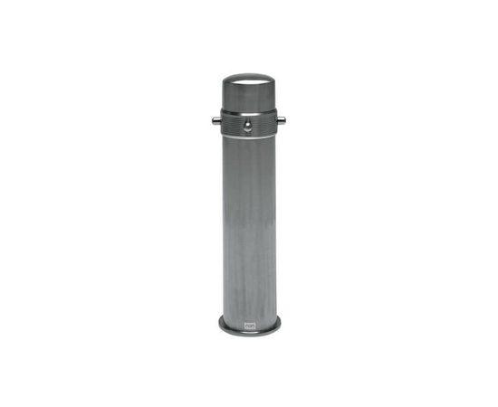 CO2 Tower (2l tank) / Баллон СО2 (2 л) в пенале из нержавеющей стали без газа, - 1 -aquamagaz.ru