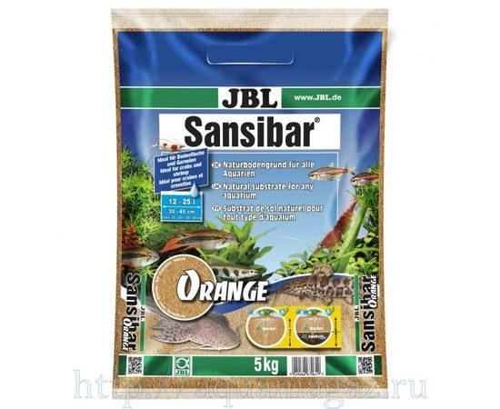 мелкий грунт оранжевый 10 кг JBL Sansibar ORANGE 10 кг, фото