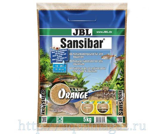 мелкий грунт оранжевый 10 кг JBL Sansibar ORANGE 10 кг, фото , изображение 3