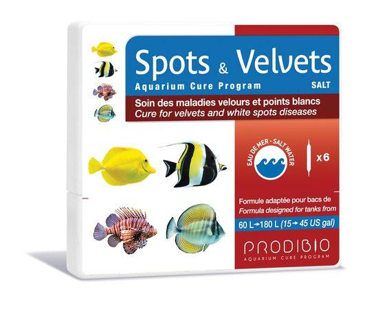 Spots & Velvets Salt препарат для лечения морских рыб 6шт, - 1 -aquamagaz.ru