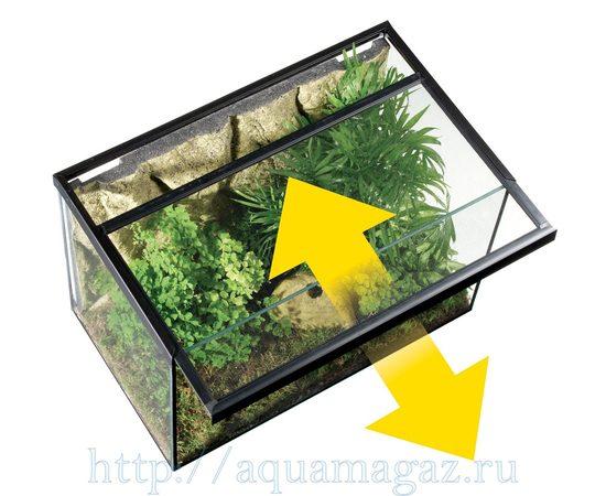 Сетчатая крышка для стеклянных ёмкостей 61x31 см, - 4 -aquamagaz.ru