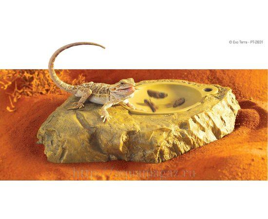 Вибро-кормушки для рептилий с пультом 28х15х4 см, фото 4