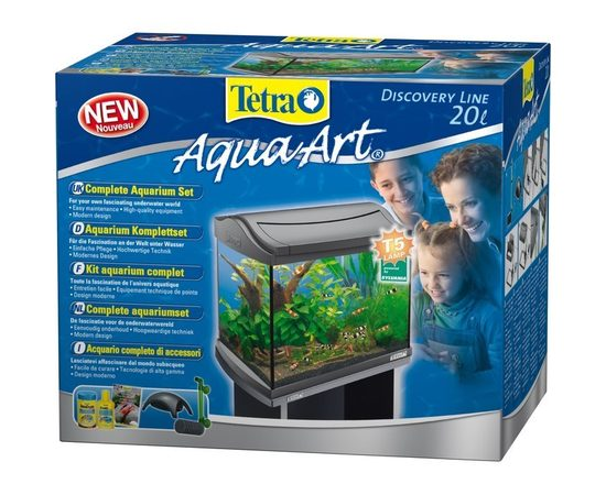 Аквариум Tetra AquaArt LED Goldfish 20л 39,5х28х33см, - 2 -aquamagaz.ru