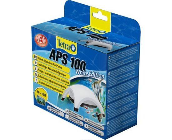 TetraTec AРS 100 компрессор для аквариумов 50-100 л белый, фото 5