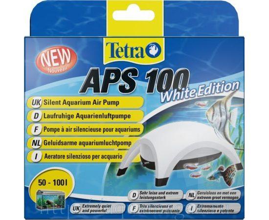 TetraTec AРS 100 компрессор для аквариумов 50-100 л белый, фото 4