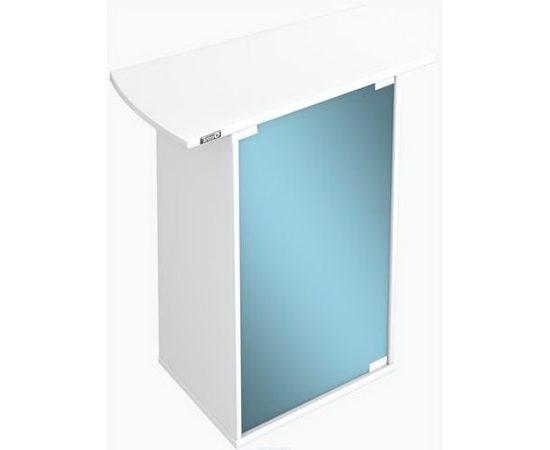 Tetra AquaArt тумбочка под аквариумы 60 л со стеклянной дверью цвет белый, фото