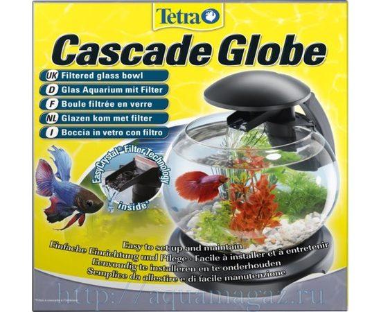 Tetra Cascade Globe аквариумный комплекс черный 6,8 л, фото , изображение 9