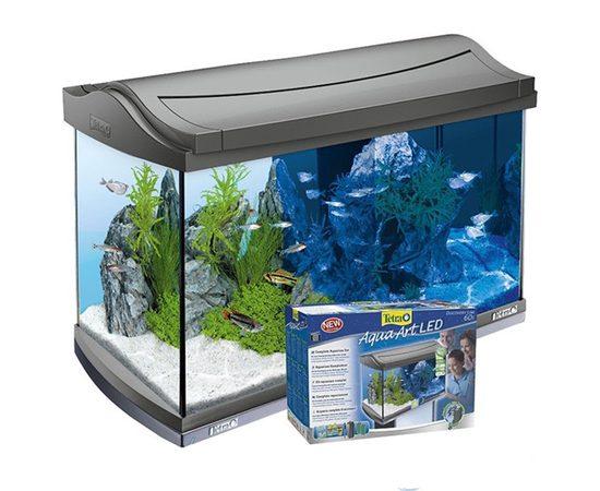 Tetra AquaArt LED Tropical аквариумный комплекс 60 л с LED освещением, - 1 -aquamagaz.ru